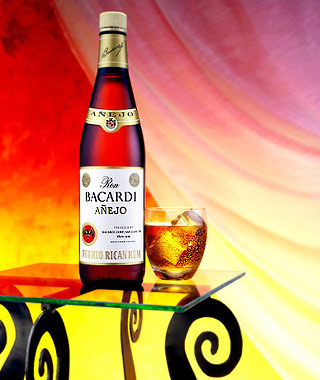 George Menda Photo Bacardi Anejo