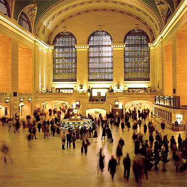 George Menda Photo Grand Central Station, New York